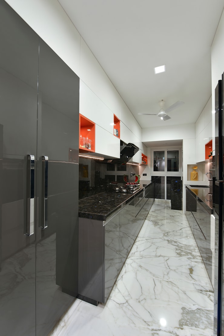 KITCHEN:  Kitchen by Ar. Milind Pai,Modern