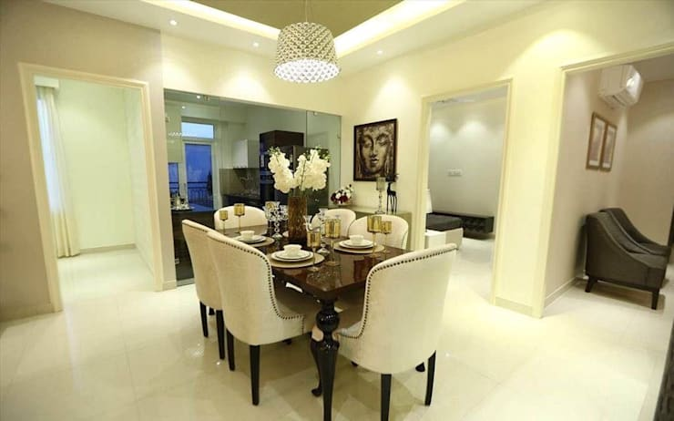 Residential Interiors:  Dining room by SDINC,Modern