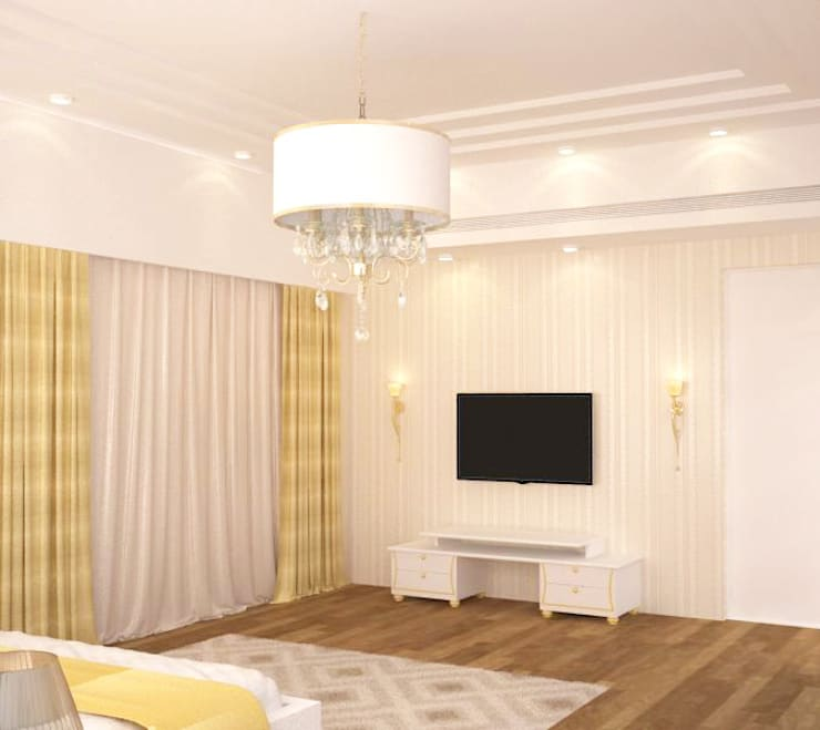 Family room: modern Media room by NVT Quality Build solution