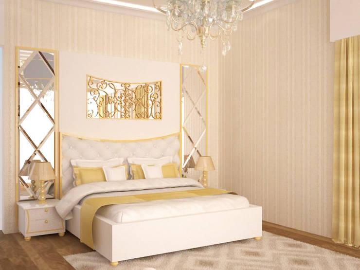 Master Bedroom : modern Bedroom by NVT Quality Build solution