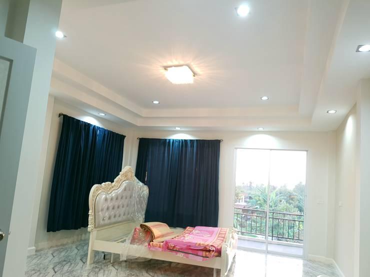 Bedroom by บริษัท ซายแอค คอนทรัคชั่น จำกัด