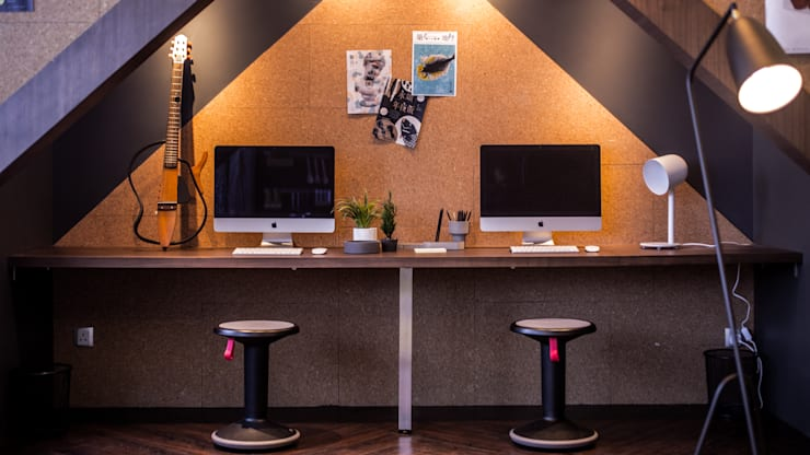Home Office :  Study/office by Artta Concept Studio