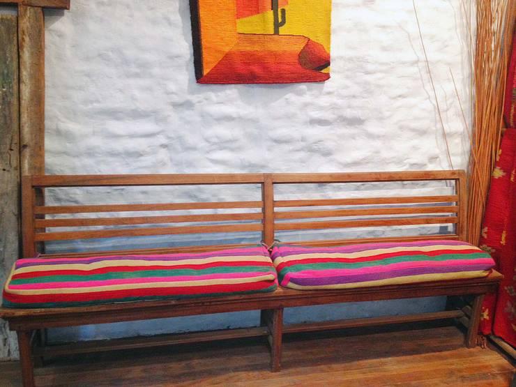 Decoración de espacios: Livings de estilo  por Nativo Argentino,Rural