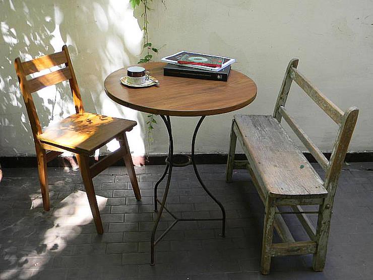 Decoración de espacios: Comedores de estilo  por Nativo Argentino,Rural