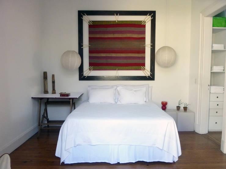 Decoración de espacios: Dormitorios de estilo  por Nativo Argentino,Rural
