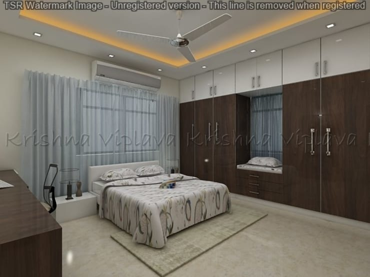 Bedroom :  Bedroom by Regalias India Interiors & Infrastructure