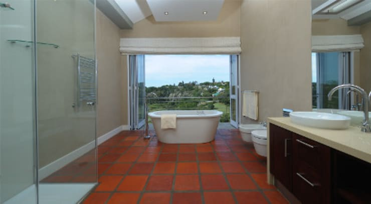 Residence, Little Walmer Golf Estate:  Bathroom by The Matrix Urban Designers and Architects