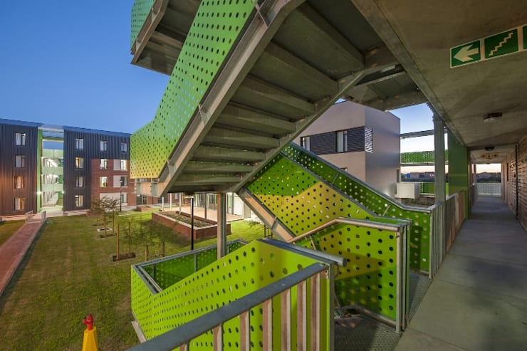 Schools by The Matrix Urban Designers and Architects,