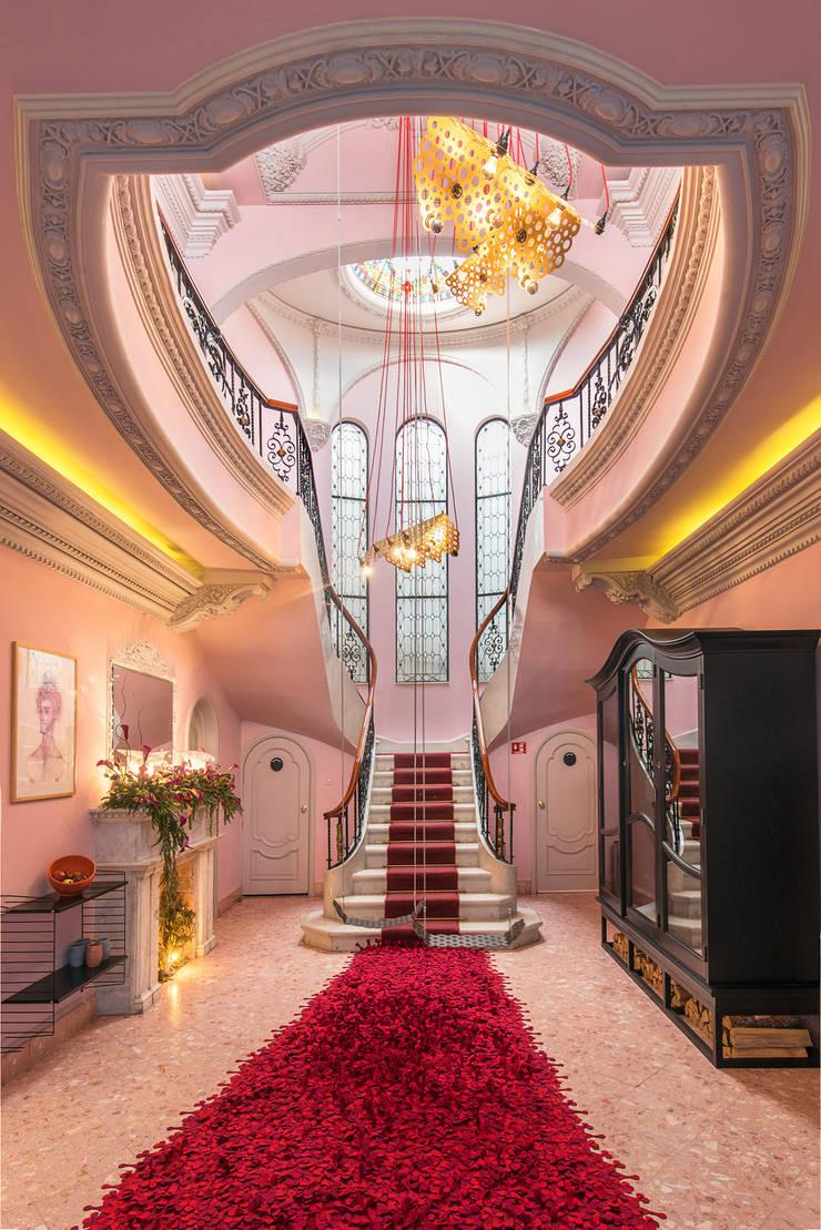 Stairs by Germán Velasco Arquitectos , Modern