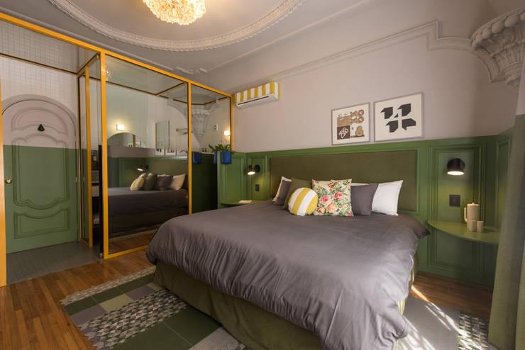 Bedroom by Germán Velasco Arquitectos , Modern