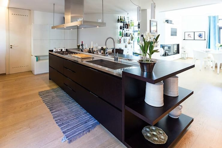 置入式廚房 by FDR architetti -francesco e danilo reale