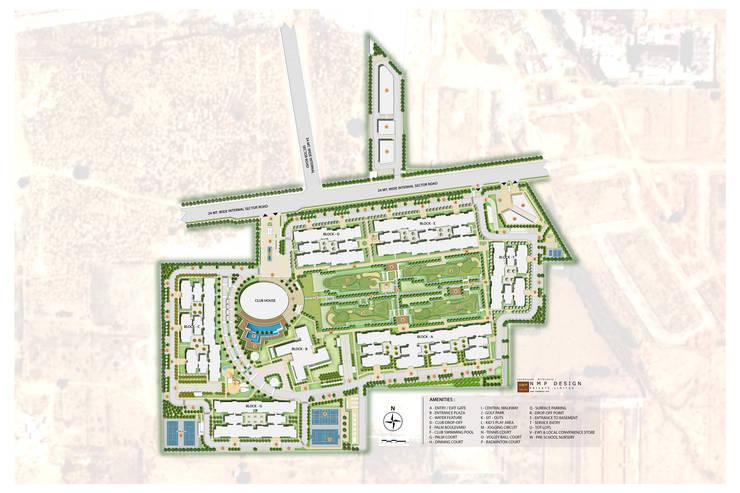 Site plan:  Garden by NMP Design