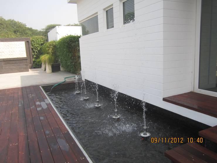 Ireo Sky-On: A Hi-Tech Housing project, Gurgaon, Haryana, India:  Pool by NMP Design