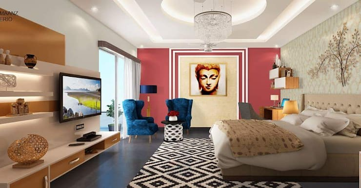Bedroom :  Bedroom by Al Hashro Interiors