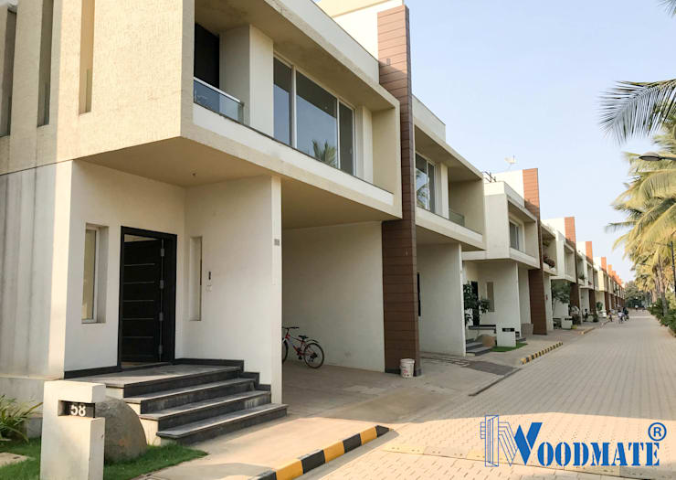 Villa Project at Renaissance Nature Walk:  Houses by Deccan Structural Systems Pvt. Ltd.,Modern