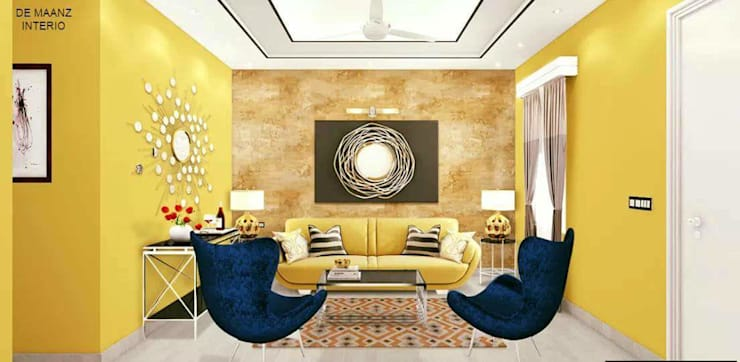 Living room : modern Living room by Al Hashro Interiors