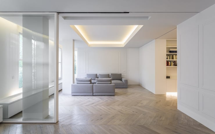 Sala da pranzo moderna di Gallardo Llopis Arquitectos Moderno