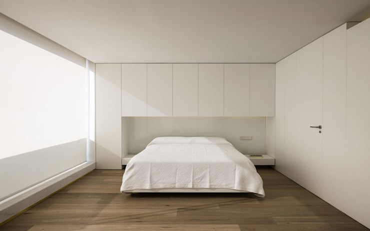 غرفة نوم تنفيذ Gallardo Llopis Arquitectos