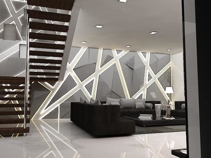 Salones de estilo  de Skaav Luxury Interiors