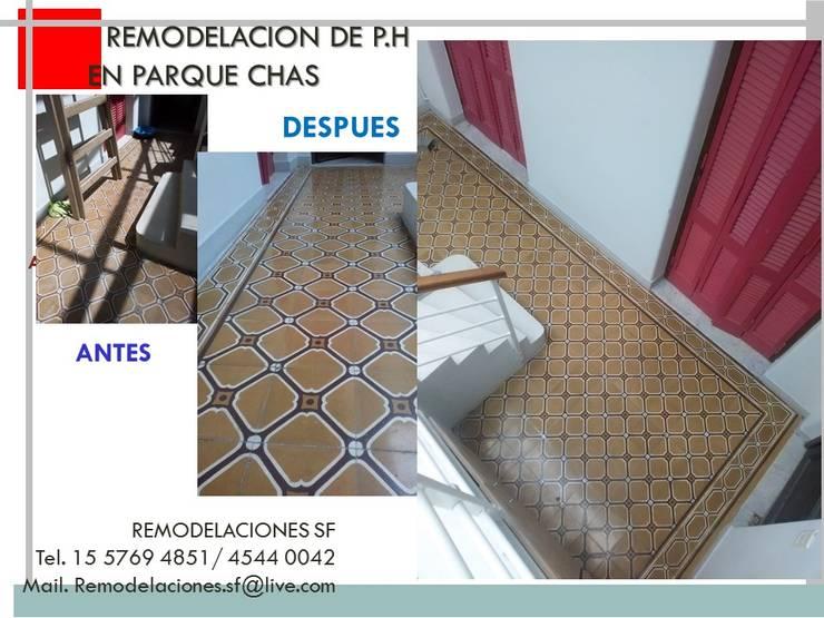 Remodelacion de P:H:  de estilo  por Remodelaciones SF