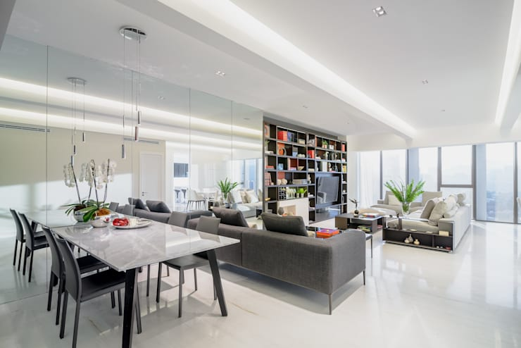 Living room by NIVEL TRES ARQUITECTURA