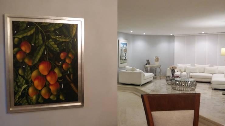 APARTAMENTO BARRANQUILLA: Paisajismo de interiores de estilo  por ANDRES FELIPE YANET - ESTUDIO DE DISEÑO