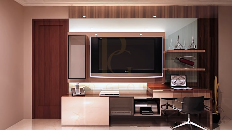 Credenza TV:  Bedroom by Pro Global Interior