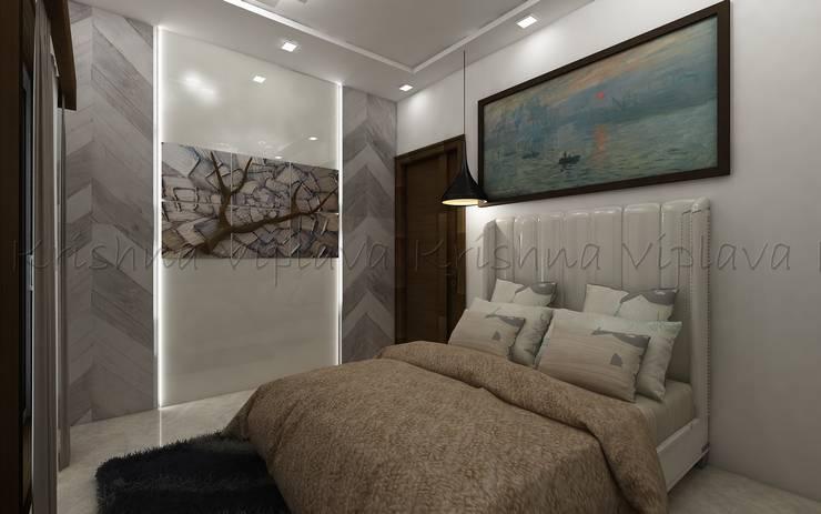 Bedroom:  Bedroom by Regalias India Interiors & Infrastructure