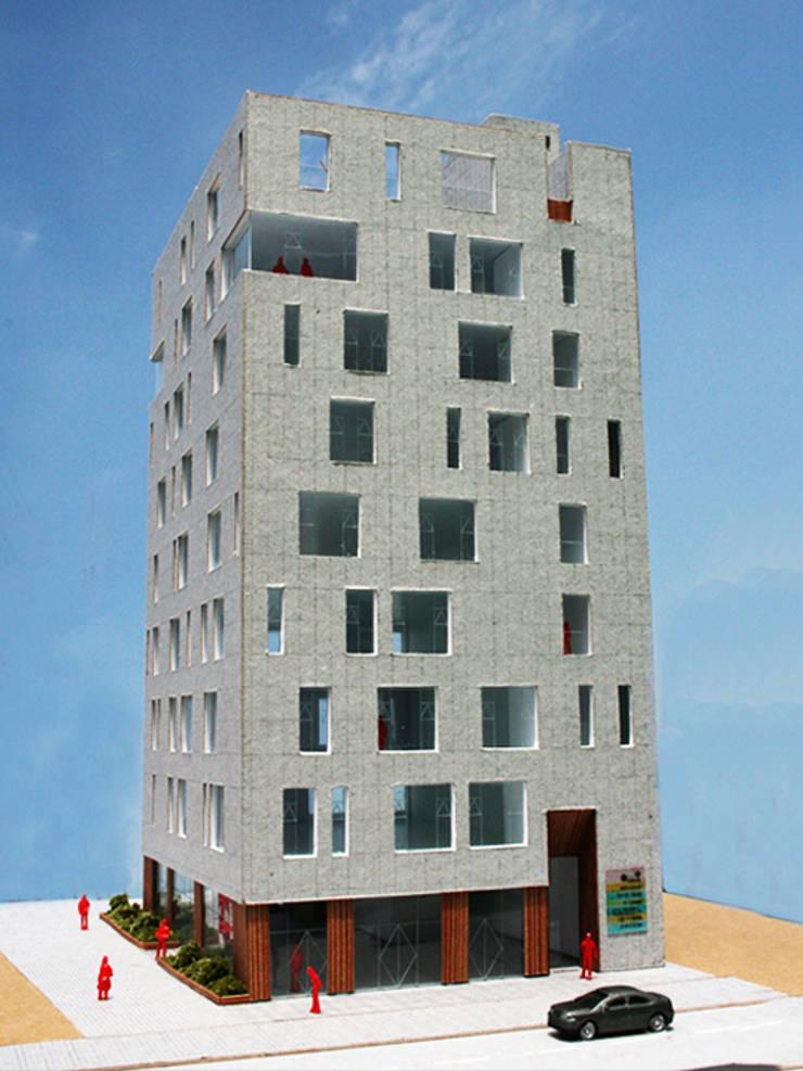 모형: (주)건축사사무소 예인그룹의  계단,모던 대리석