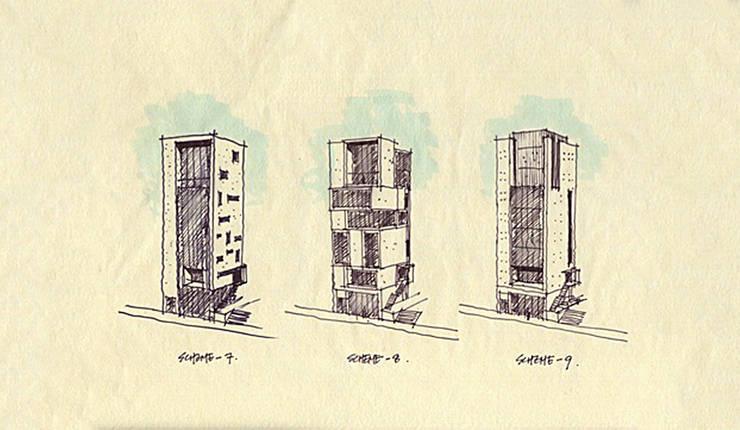 컨셉스케치: (주)건축사사무소 예인그룹의  계단,
