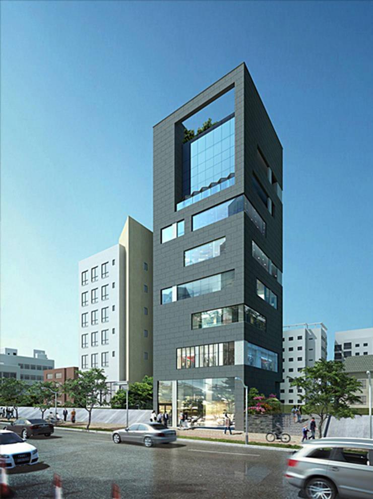 투시도: (주)건축사사무소 예인그룹의  계단,