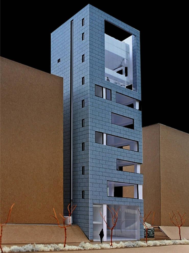 모형: (주)건축사사무소 예인그룹의  바닥,