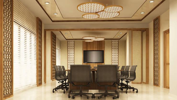 Hotel Conference Room:   by Aurazia Design Studio