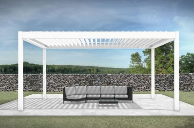 COVER IMAGES:  Patios by Corradi Outdoor Living Space