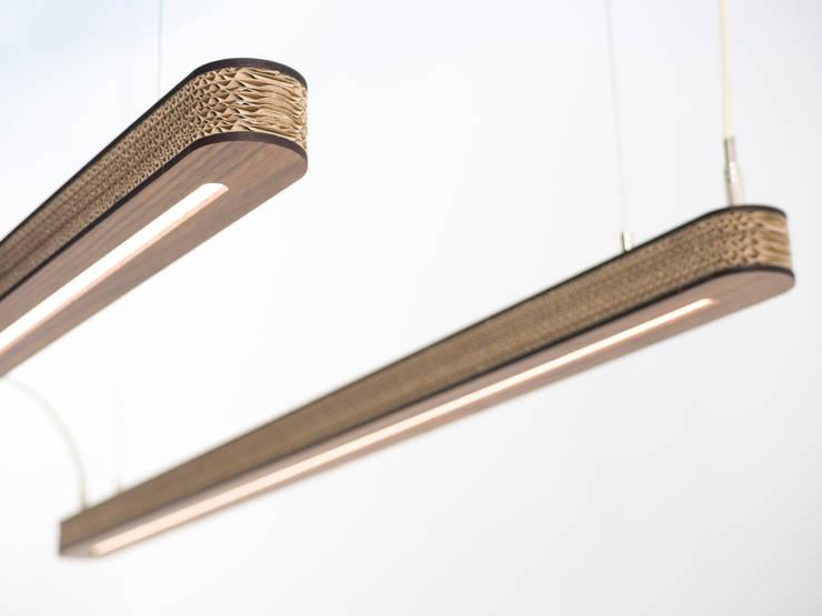 Cartoni Design LED Pendant 900:   door Studio Perspective, Industrieel Papier