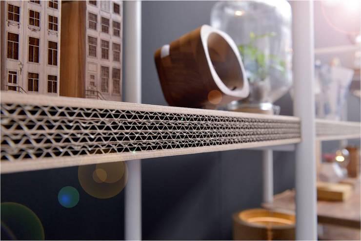 Designproducten gemaakt van karton:   door Studio Perspective, Industrieel Papier