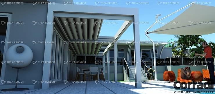 LOUNGE - PERGOTENDA MAESTRO:  Patios by Corradi Outdoor Living Space