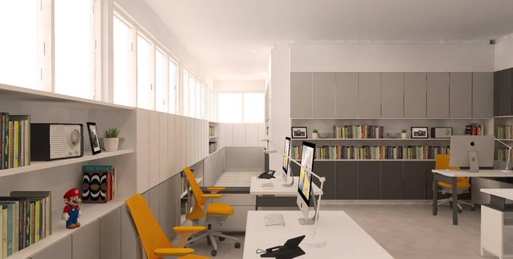 Interior Kantor Dekanat Fakultas Ilmu Budaya Universitas Indonesia:   by Studio Slenpan