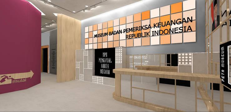 Museum Badan Pemeriksa Keuangan Republik Indonesia:   by Studio Slenpan