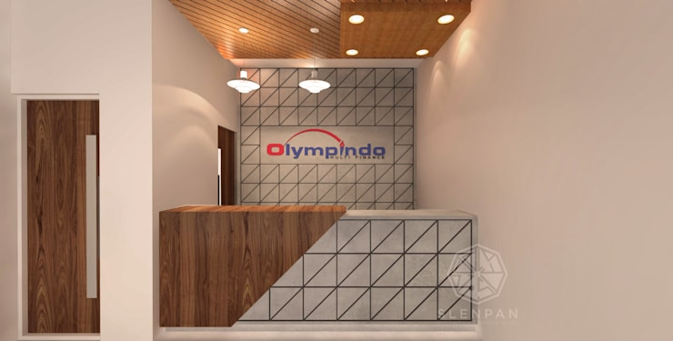 Reception & Meeting Area Office Olympindo:   by Studio Slenpan