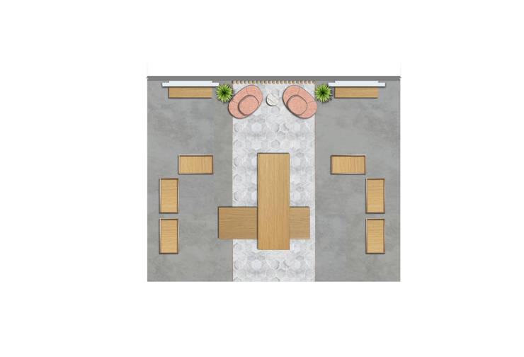 PILYQ DESIGN GUIDE | Espacio Medium: Espacios comerciales de estilo  por C | C INTERIOR ARCHITECTURE