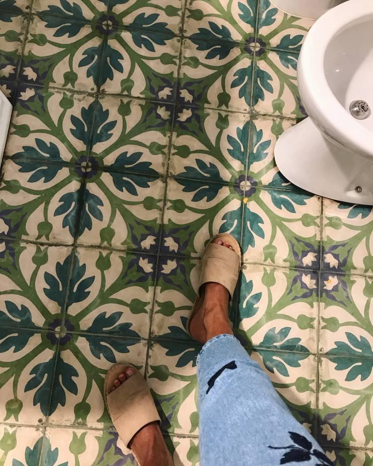 RENOVACION BAÑO: Baños de estilo  por ESTUDIO WÄRME,