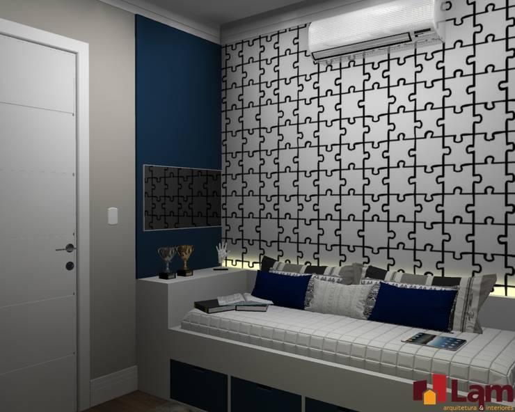 Apto. Vereda Reserva V: Quartos  por LAM Arquitetura | Interiores
