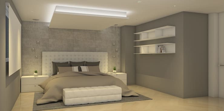 La Llovizna : modern Bedroom by Spazio Design