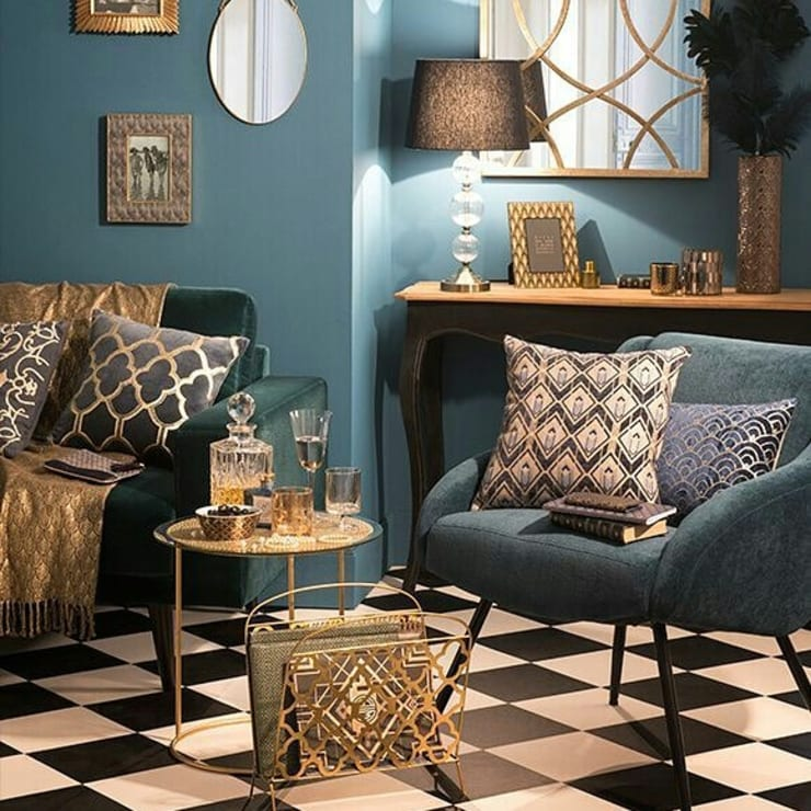 Interior : Salas de estilo  por MARCELA PATIÑO INTERIORISMO