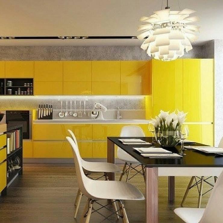 Interior : Cocinas de estilo  por MARCELA PATIÑO INTERIORISMO
