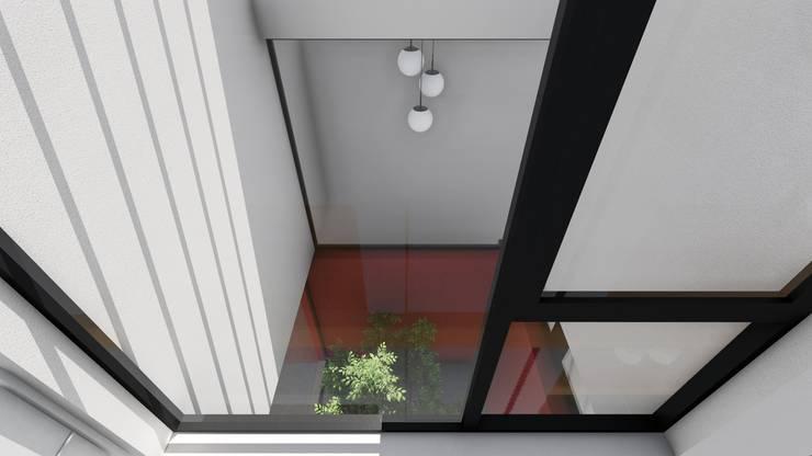 Vivienda en Duplex: Jardines de invierno de estilo  por ARBOL Arquitectos ,