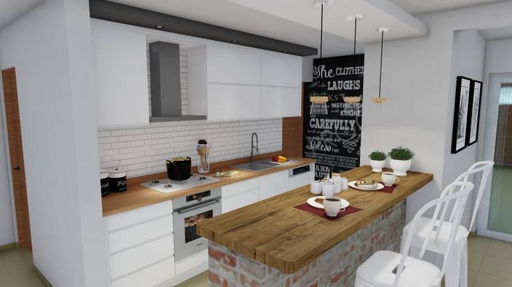 Cocinas de estilo escandinavo por ARBOL Arquitectos