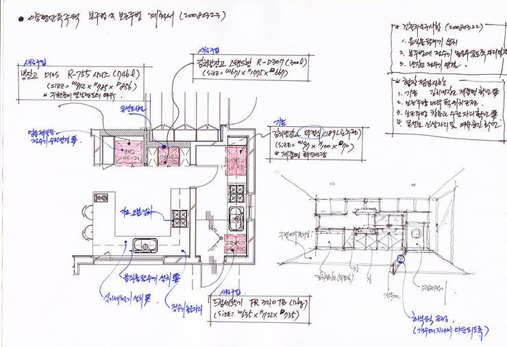 컨셉스케치: (주)건축사사무소 예인그룹의  계단