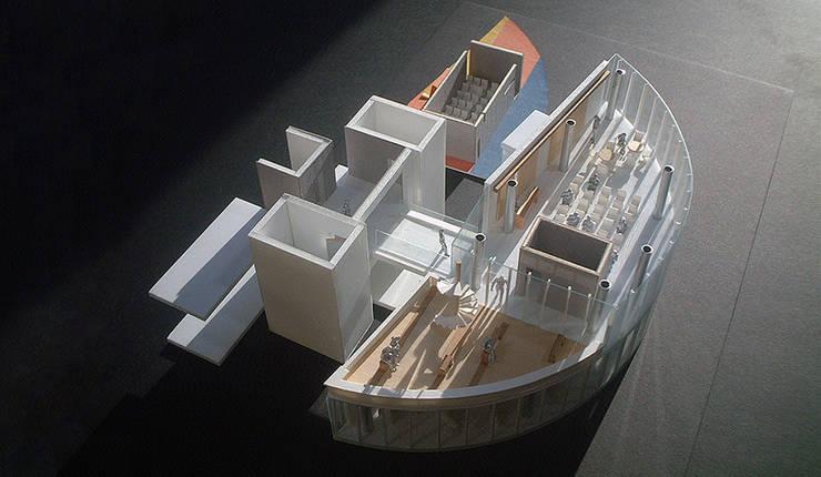 모델: (주)건축사사무소 예인그룹의  계단